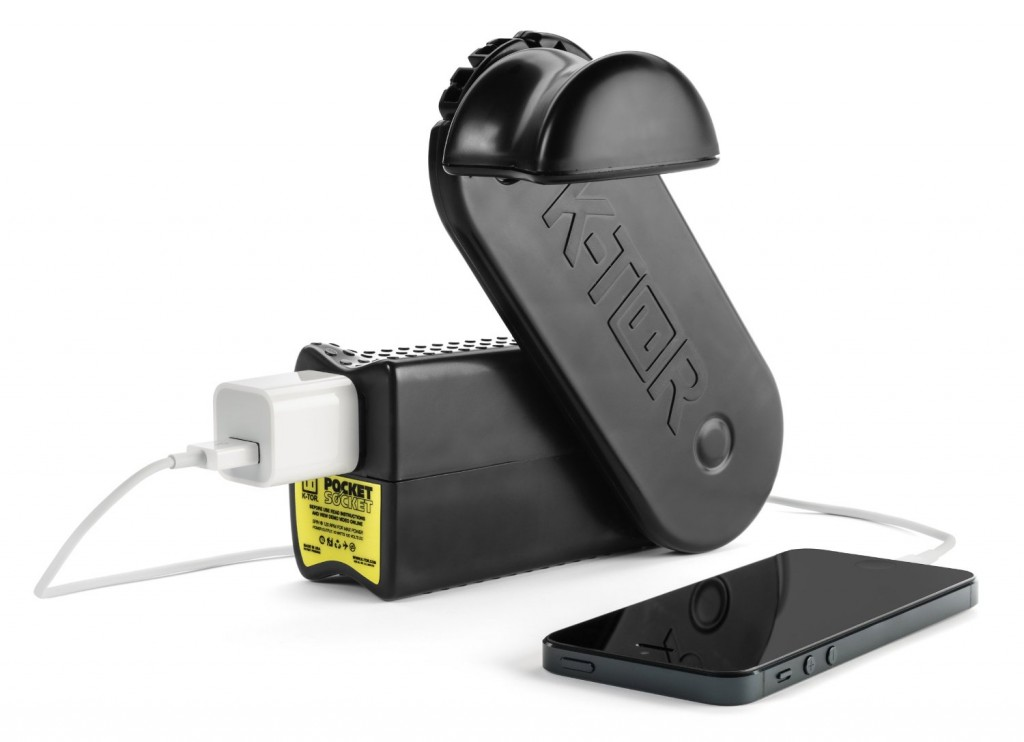 windup battery charger