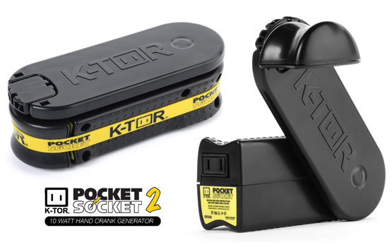 Pocket socket 2 a new generation of hand crank generators wind hand crank battery charger sciox Gallery